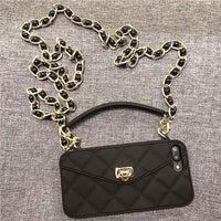 Crossbody Phone Case with Long Strap Chain for iPhone 11 Series