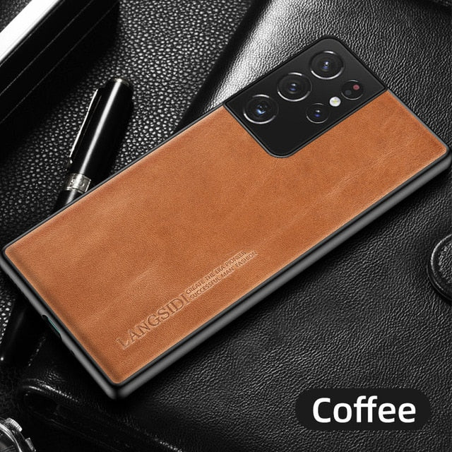 Galaxy S21 Ultra Leather Case 15