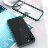 New Fashion Transparent Shockproof Matte Clear Case for iPhone 12 Series