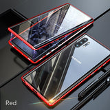 360 Magnetic Metal Double Side Glass Case For Samsung Galaxy S20 Series