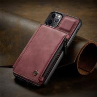 IPhone 12 Pro Max leather wallet case 1