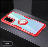 Transparent Clear Case with Plus Magnetic Ring Stand Heavy Duty Protection for Note 20 Series