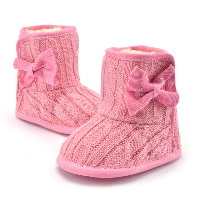 Plus Velvet Warm Newborn Baby Shoes Winter And Spring