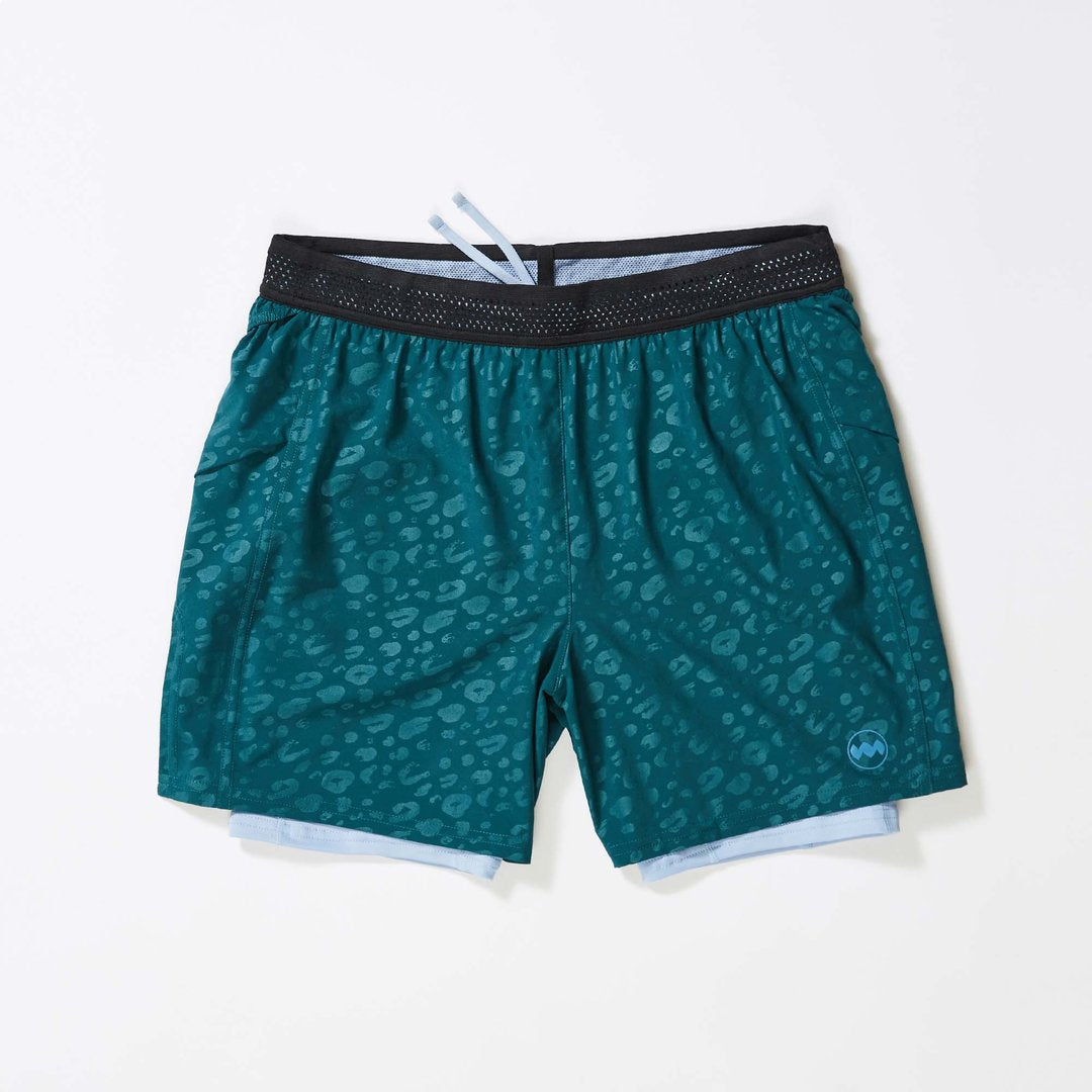 "Janji | 8"" 2-in-1 Traverse Short in Eagle Ray"