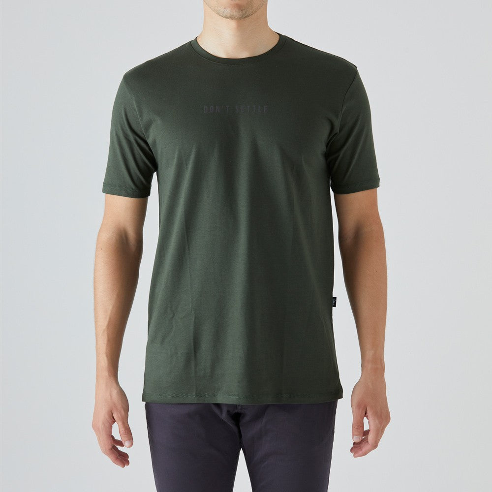 givelo | Don't Settle T-Shirt - Green