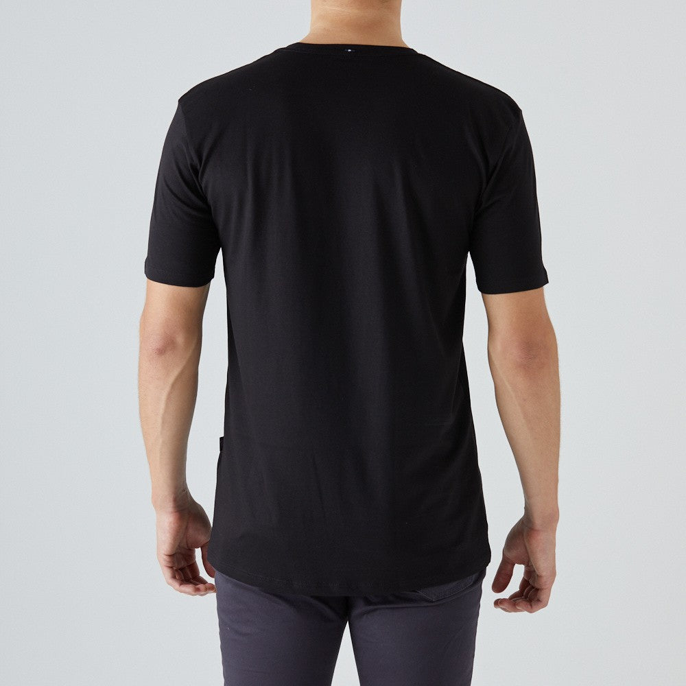 givelo | Peruvian Cotton T-Shirt - Black