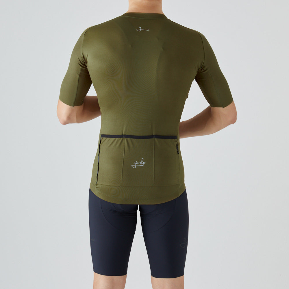 givelo | Essential Jersey - Olive Green