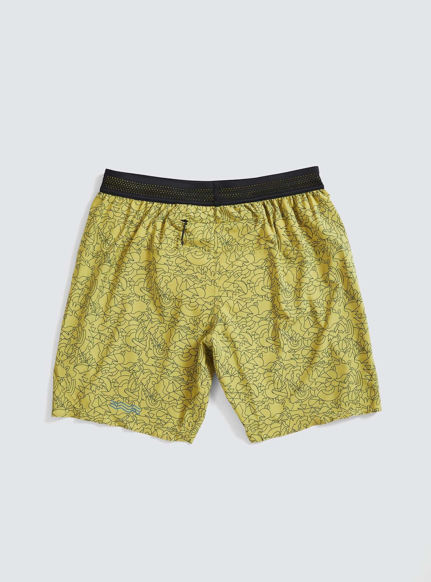 "Janji | 7"" AFO Middle Short - Geo-Savannah"