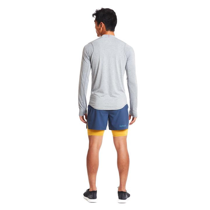 Janji | Swift Tech Merino Mock-Neck in Pebble