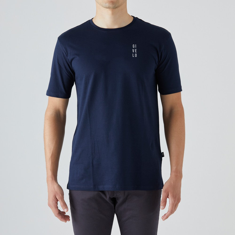 givelo | Peruvian Cotton T-Shirt - Navy