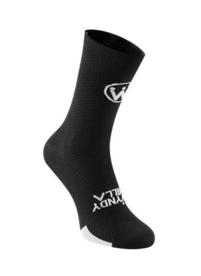 WyndyMilla | Enjoy Life Go Cycling Socks - Black