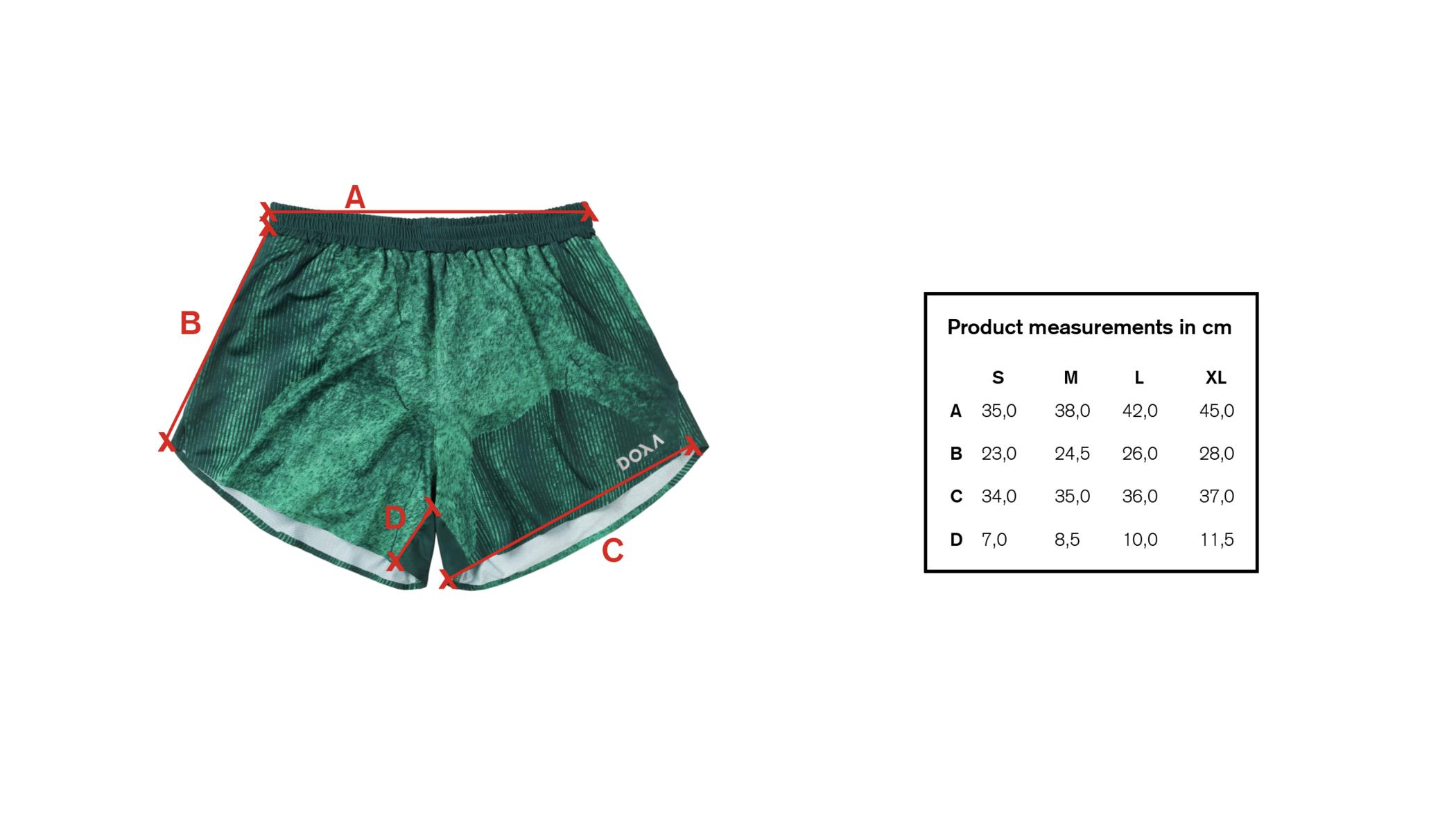Doxa | Silas Race Shorts X-ray - Oregon