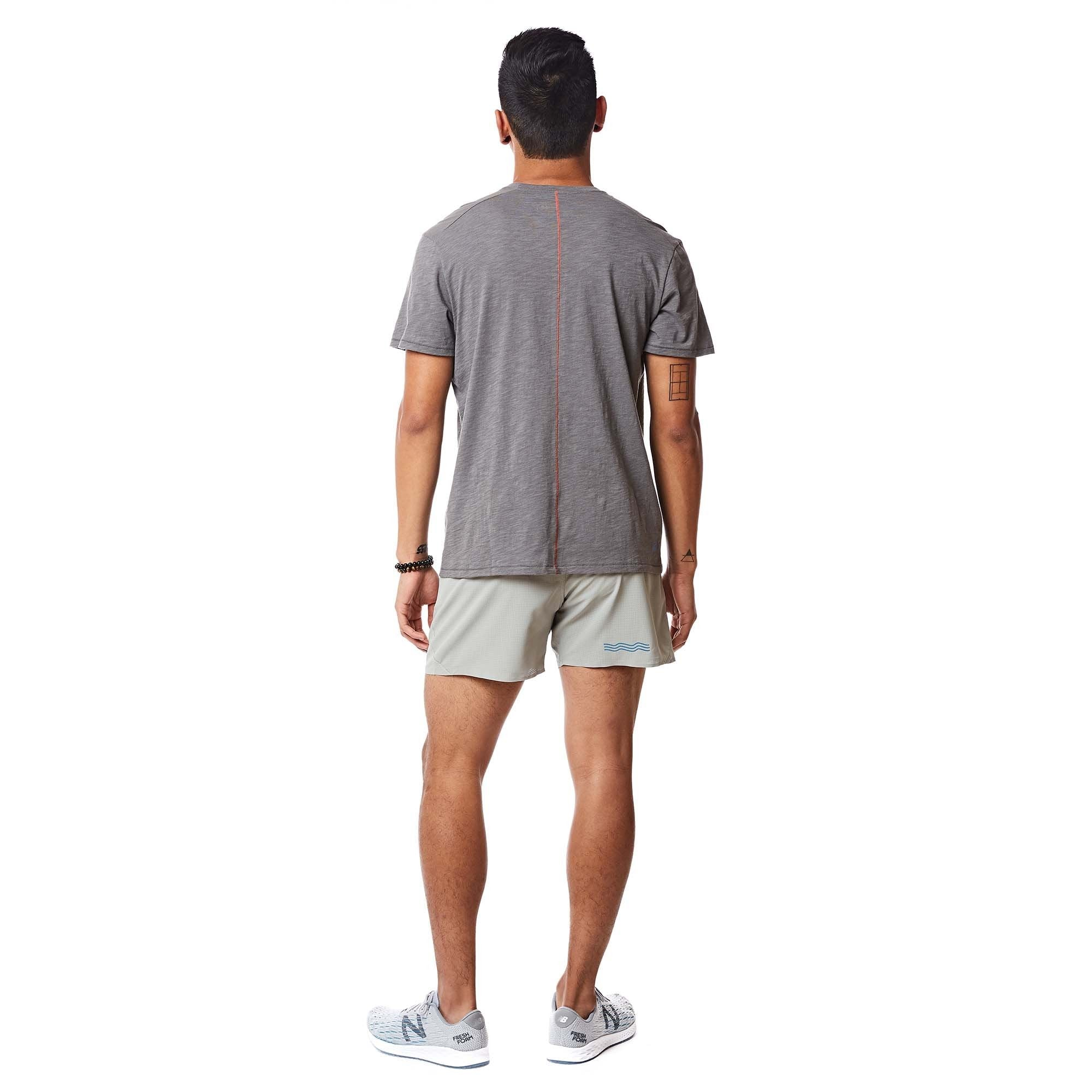 Janji | Runpaca Short Sleeve in Weathered Stone
