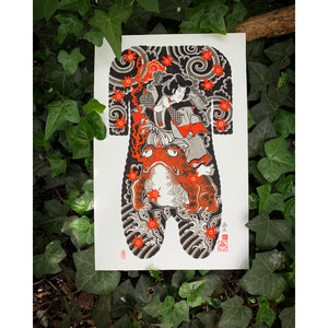 Jiraya Body Suit