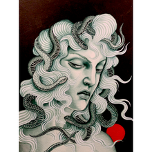 Load image into Gallery viewer, Medusa Verde - Original Painting-