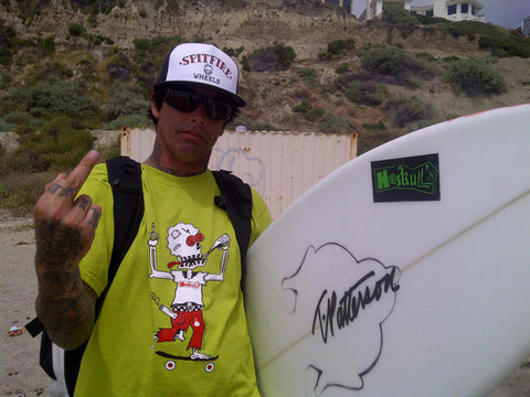 Christian Fletcher is down with Haskull's