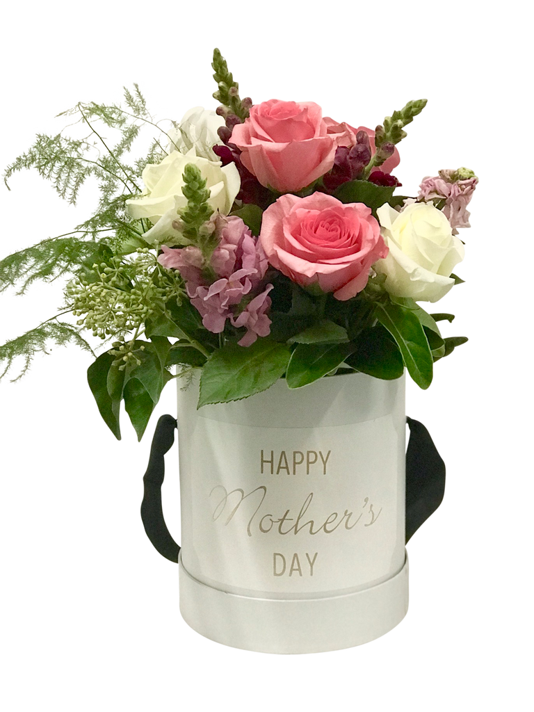 Personalised Flower Hat Box - Mother's Day