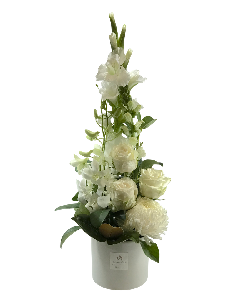 White Treasure Arrangement