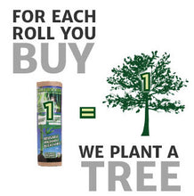 for each roll you buy, we plant a tree