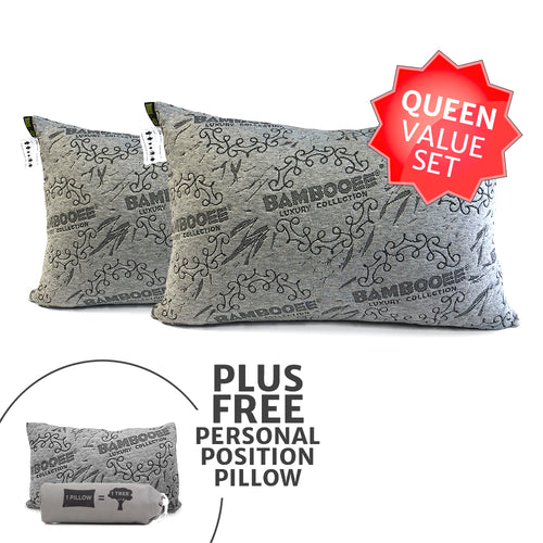 Queen pillows value set