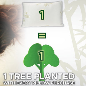 one pillow = one tree planted