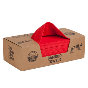 Bambooee flat pack red
