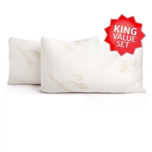 Bambooee king pillows