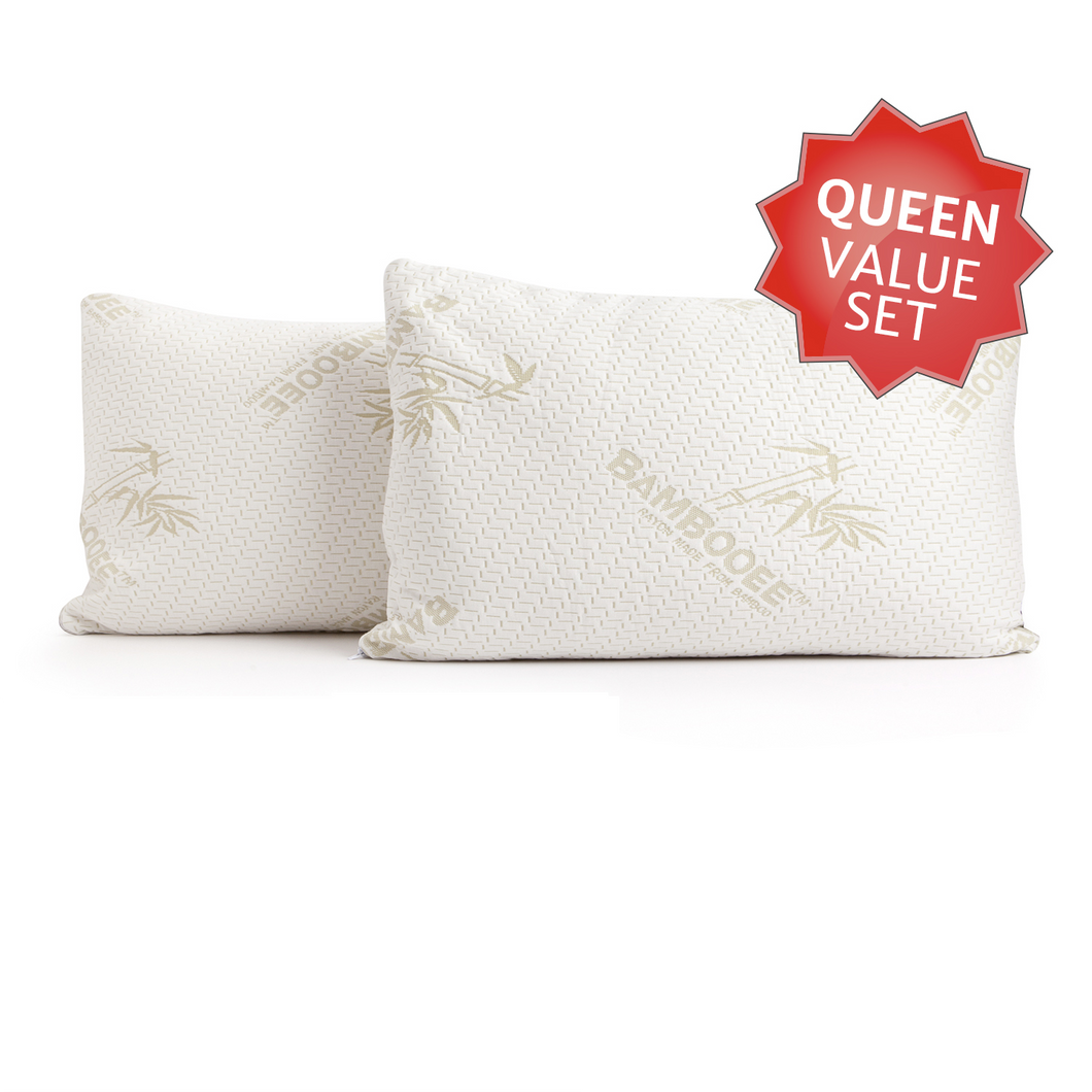 Bambooee queen pillows