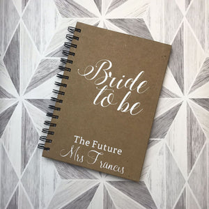 Bride To Be Wedding Planner - Wedding Planner