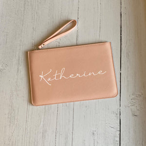 Name Clutch Bag