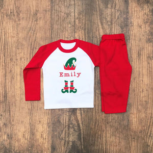 Elf Christmas Pyjamas - Pyjamas