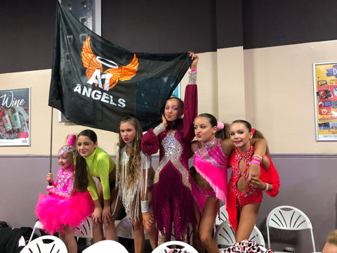 A1 Angels Large Flag