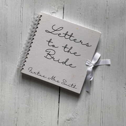 Letters To The Bride Hen Do Guest Book