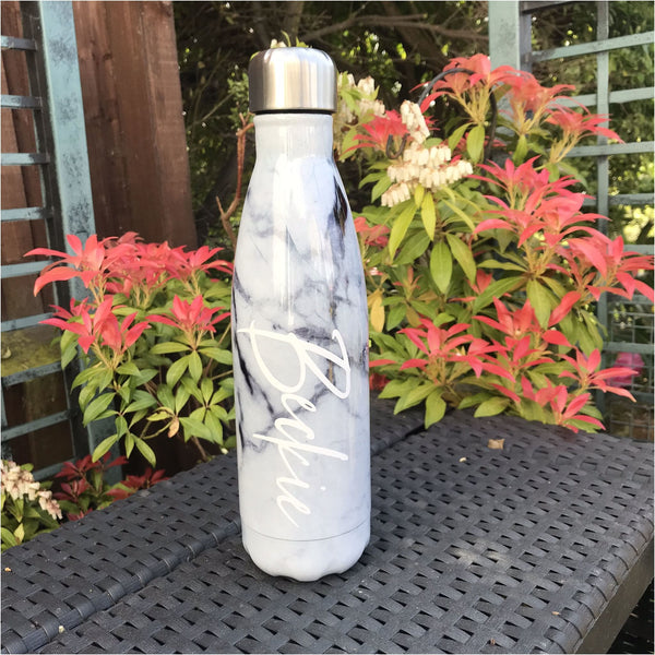 Marble Water Bottle - Water Bottle