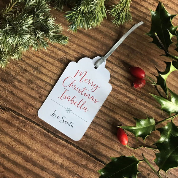 Merry Christmas From Santa Gift Tag - Gift Tag