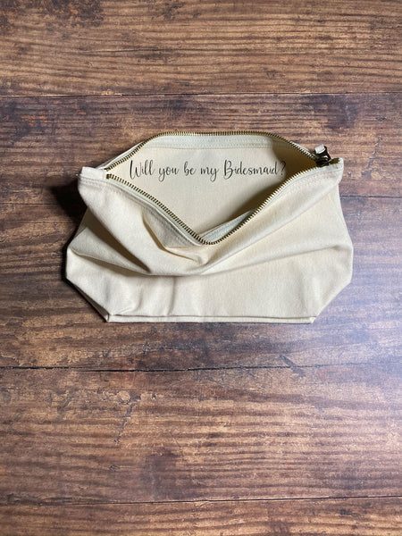 Name Make Up Bag