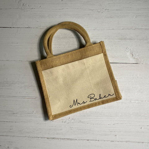 Mrs Cotton Pocket Bag