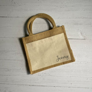 Name Cotton Pocket Bag