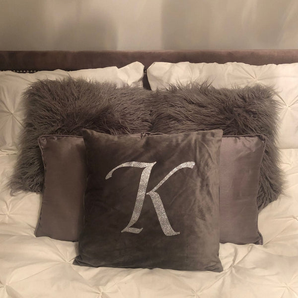Personalise Initial Cushion 45x45cm (18x18) - pillow