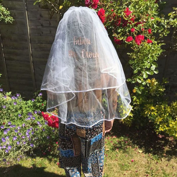 Personalised Hen Do Veil - Veil