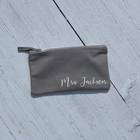 Personalised Mrs Make Up Bag - Make Up Bag