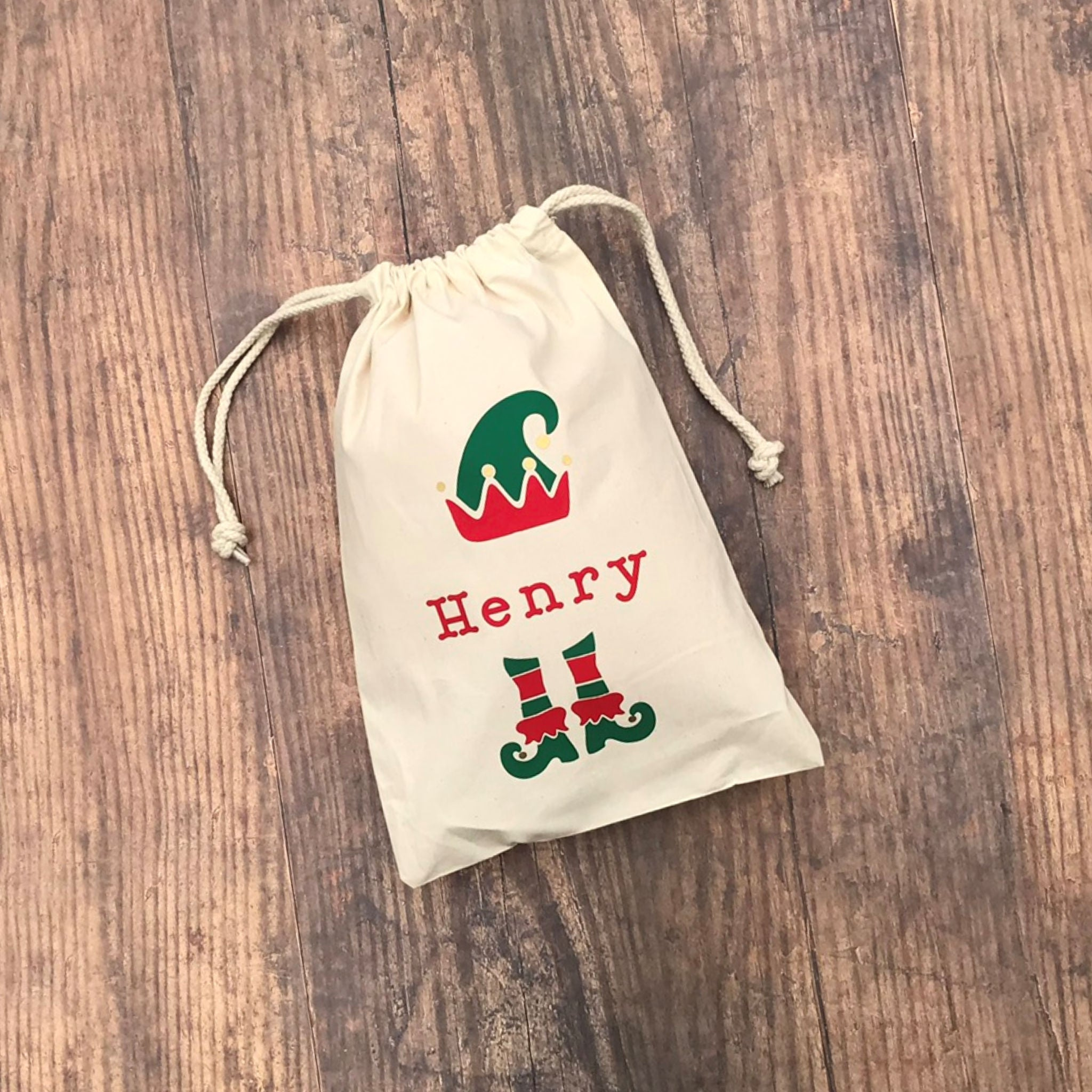 Elf Christmas Sack