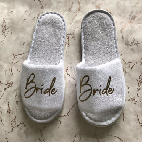 Slippers - Wedding Role
