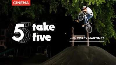 Take 5 with Corey Martinez
