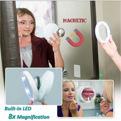 5X LED Magnetic Mirror