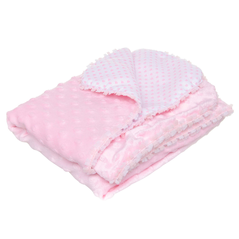 Cobija Doble Vista Soft Rosa Baby