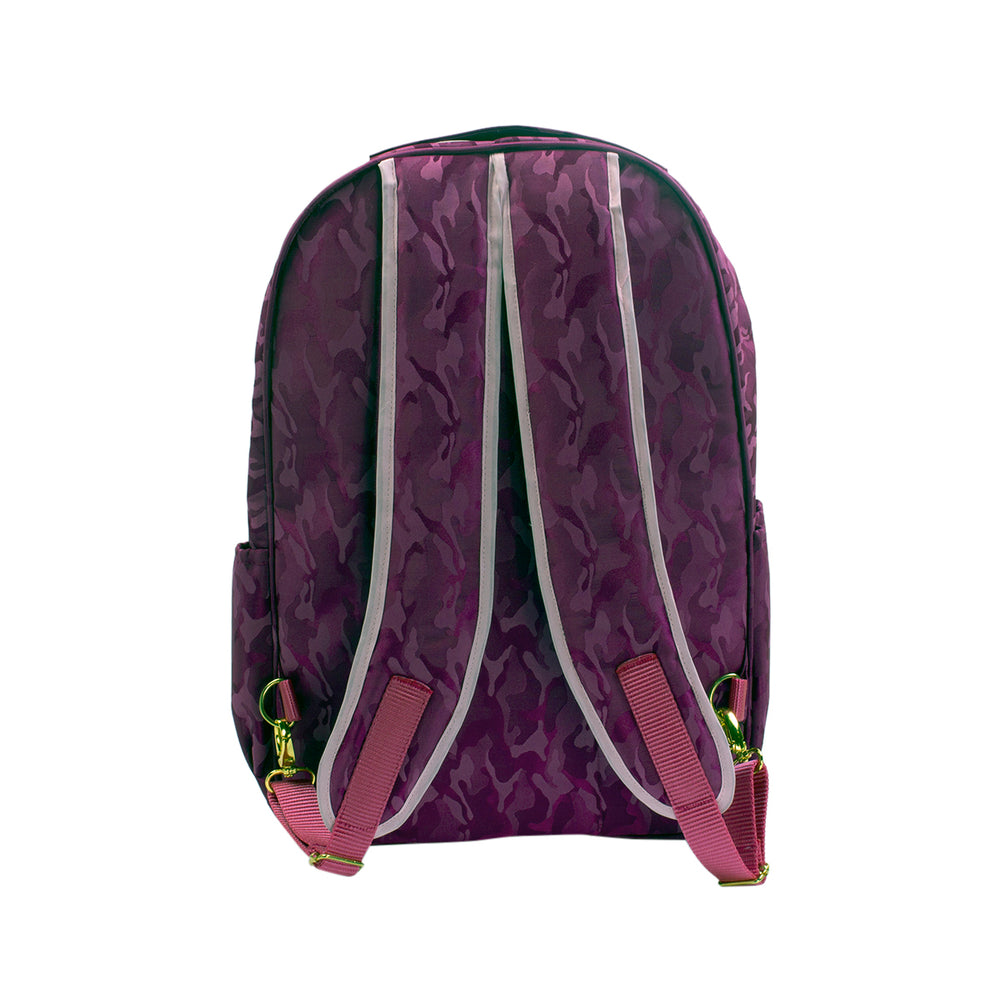Pañalera Backpack Camuflage Cereza