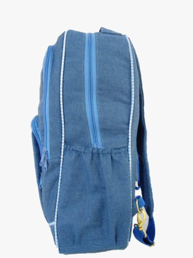 Pañalera Backpack Denim Love