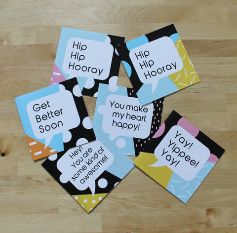 The Essentials Card Collection (set of 6 or singles)