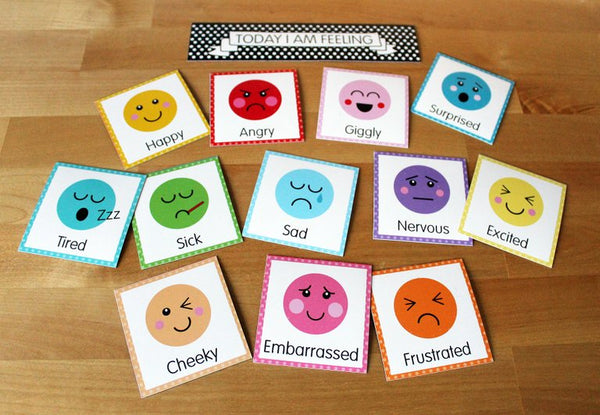 2 x Magnet Sets Calendar & Feelings mix and match - SAVE!